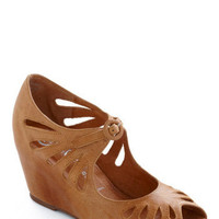 Jeffrey Campbell Cutout Cookie Wedge | Mod Retro Vintage Wedges | ModCloth.com