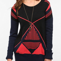 San & Soni Slina Bold Graphic Sweater