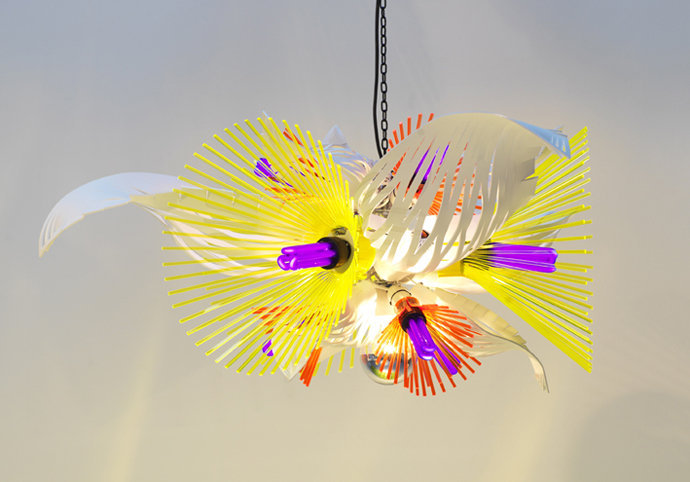 Blooming Spark lamps by Hsiao-Chi Tsai and Kimiya Yoshikawa