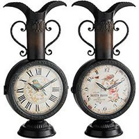 Pier 1 Imports - Product Details - Double-Sided Metal Clock