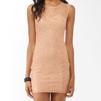 Textured Lace Sheath Dress | FOREVER21 - 2015742434