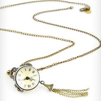 Travel Time Watch Necklace