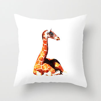 network Throw Pillow by Steffi ~ FindsFUNDSTUECKE