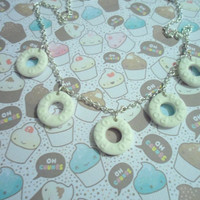 Polo sweets necklace made from polymer clay