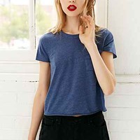 Truly Madly Deeply Cut Sleeve Pocket Tee-