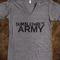 Dumbledore&#x27;s Army V-Neck  - Teevana