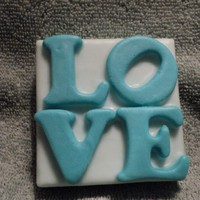Soap - Teal Love Soap - Berries N C.. on Luulla