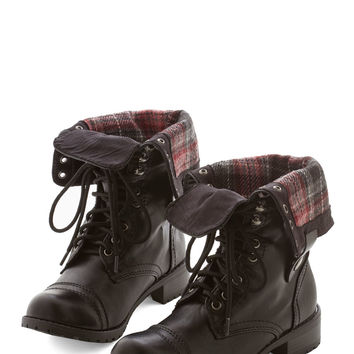ModCloth Urban Night of the Living Tread Boot