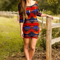 All Figured Out Dress-Royal