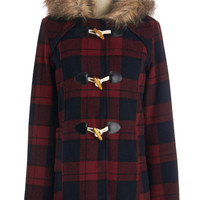 ModCloth Rustic Mid-length Long Sleeve Hometown Tour Guide Coat