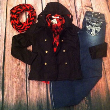 """""""Truth Be Cold"""" Peacoat"""