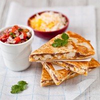 Chicken and Black Bean Quesadilla Recipe