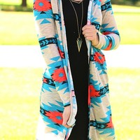 Fire & Water Tribal Cardigan