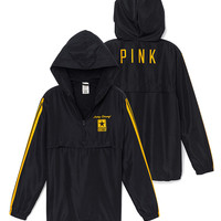 Army Half-Zip Windbreaker - PINK - Victoria's Secret