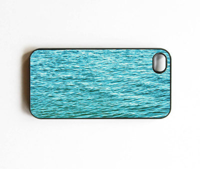 Iphone Case. Water. Ocean. Waves. Blue. Bright. Pretty. Sea. Black. Pacific Ocean. California. Iphone 4 case. Iphone 4s case. cover