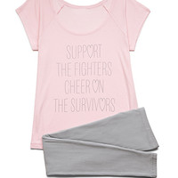 Support The Fighters PJ Set