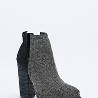 Jeffrey Campbell Who's Next Slit Boots in Black and Grey - Urban Outfitters