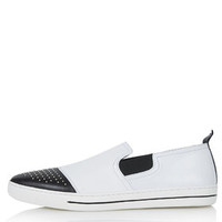 PEACOCK Pointed Stud Trainers - New In This Week - New In