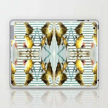 Birds Of A Feather Laptop & iPad Skin by Louisa Catharine Forsyth