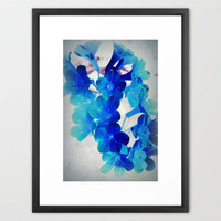simple magic Framed Art Print by Marianna Tankelevich | Society6