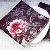 Peony Garden Luncheon Napkins(Set of 12 Packs) - $21.95