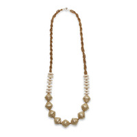Gold Sparkle Beaded Necklace | TOMS