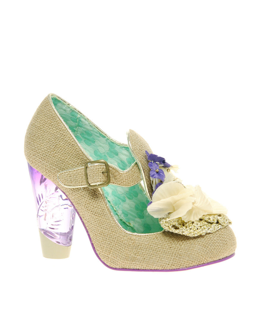 Irregular Choice Can t Touch This Raffia Mary Jane Shoes at asos.com