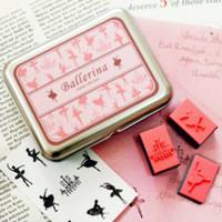 Ballet DIY Rubber Stamp Set - $8.95