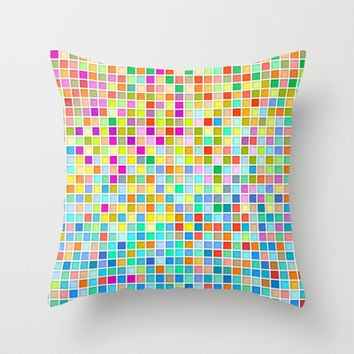 Click #9 Throw Pillow by Ornaart