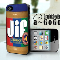 Jiff Peanut Butter iphone 4/4s case, custom cell phone case