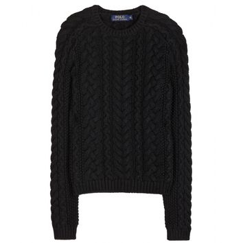 polo ralph lauren - paige cotton knit sweater