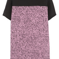 Richard Nicoll Printed washed-silk mini dress – 65% at THE OUTNET.COM