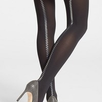 Wolford Zip Detail Tights | Nordstrom