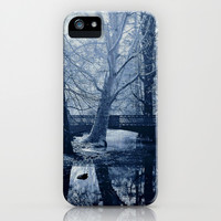 Reflective Thoughts In Parco Sempione iPhone & iPod Case by Louisa Catharine Forsyth #society6