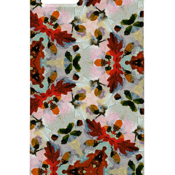 Ginette Fine Art Acorns In The Snow Cell Phone Case