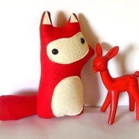 Liam The Woodland Fox Made to Order Featured in by sleepyking