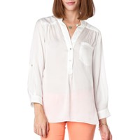 ShopSosie Style : Grenelle Blouse in White