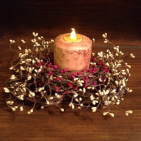 Candle, Pillar 4 Inch Scented (LED)