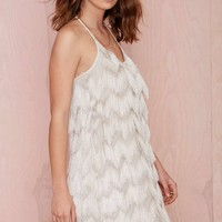 Joa Shake Off Fringe Dress