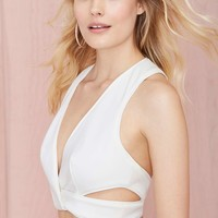 Keepsake Lonely Lover Cutout Crop Top