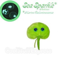 Giant Microbes Sea Sparkle (Noctiluca) Stuffed Plush Toy, Fun & Unique Gifts