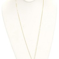 Delicate Stone Drop Neck, Smoke :: NEW ARRIVALS :: The Blue Door Boutique