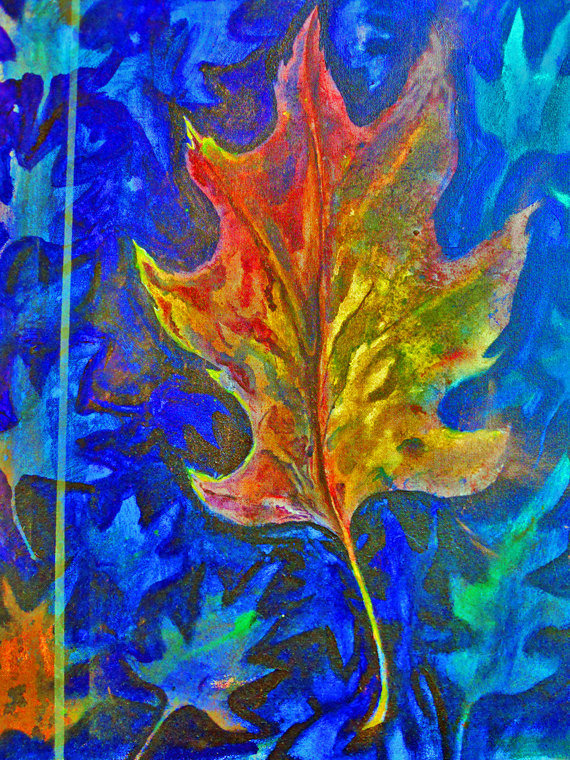End of Summer- 8x10 print of an original paiting by Emily Fields