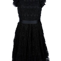 Red Valentino Crochet Sash Dress - Spinnaker 101 - farfetch.com