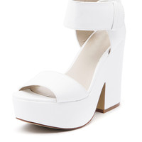 (buy early) Amber Platform in White