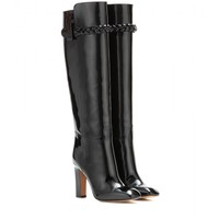valentino - to be cool patent leather boots