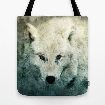 The Tenderness Of Wolves Tote Bag by Tordis Kayma
