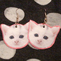 Kitten Earings
