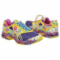 Athletics ASICS Women&#x27;s GEL-NOOSA TRI7 Elec Purp/White/Sun FamousFootwear.com