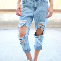 Ultra Boyfriend Jeans - Dark Wash – ShopCivilized
